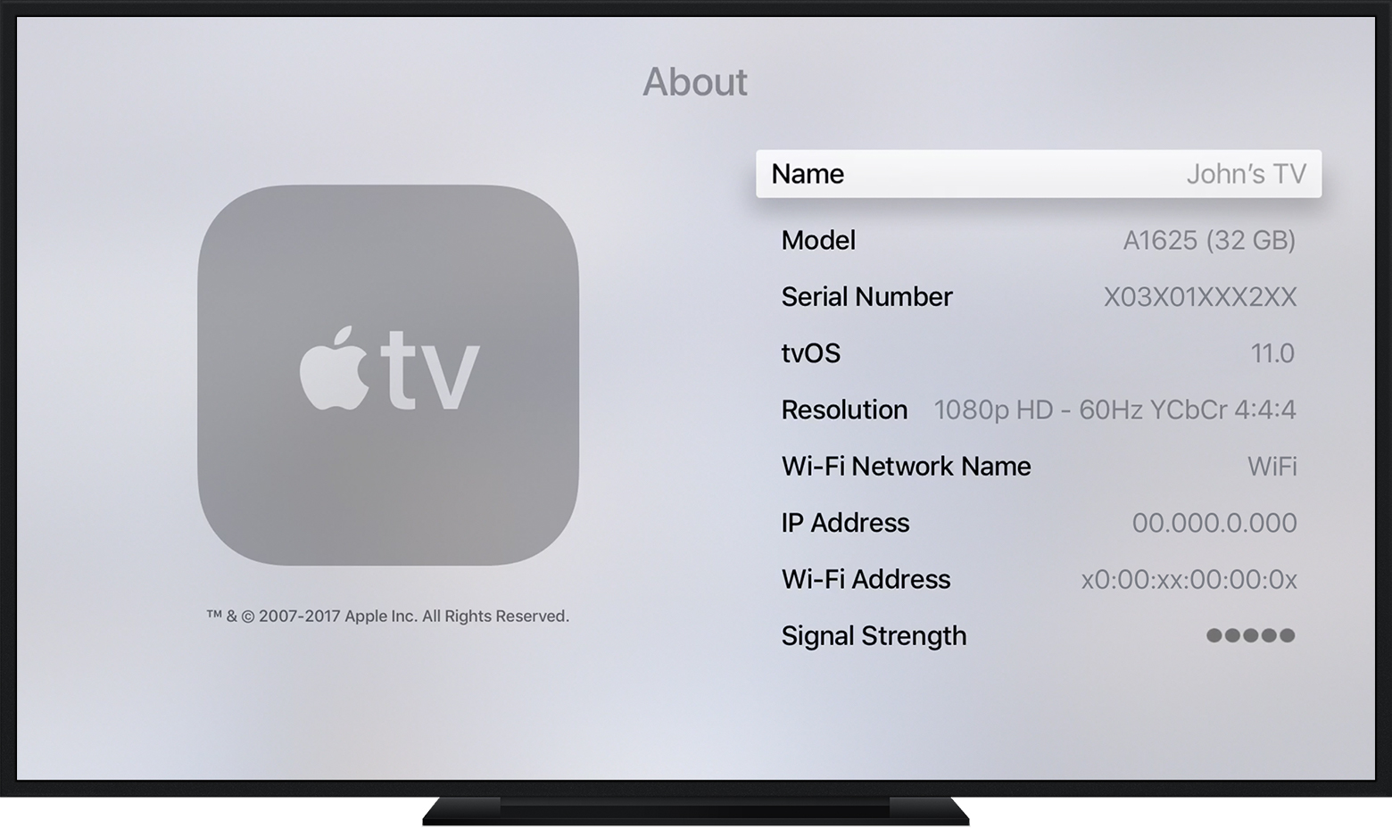 Why can t i see my icloud photos on apple tv howsto co for Mirror for samsung tv license key
