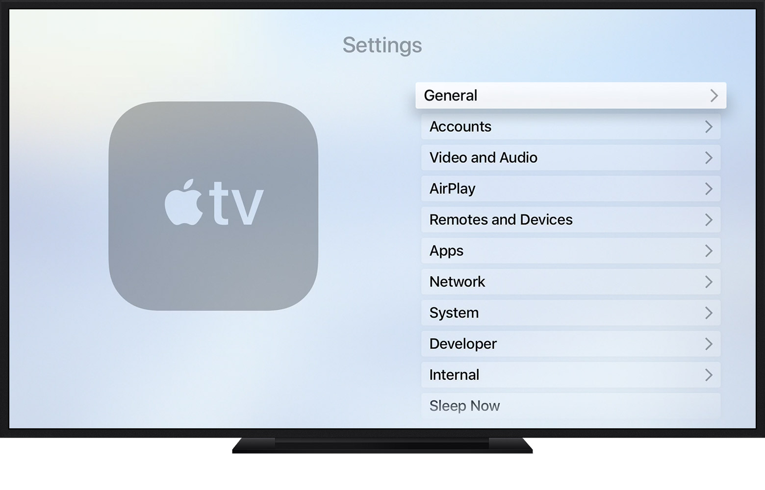 Change the language on your Apple TV - Apple Support