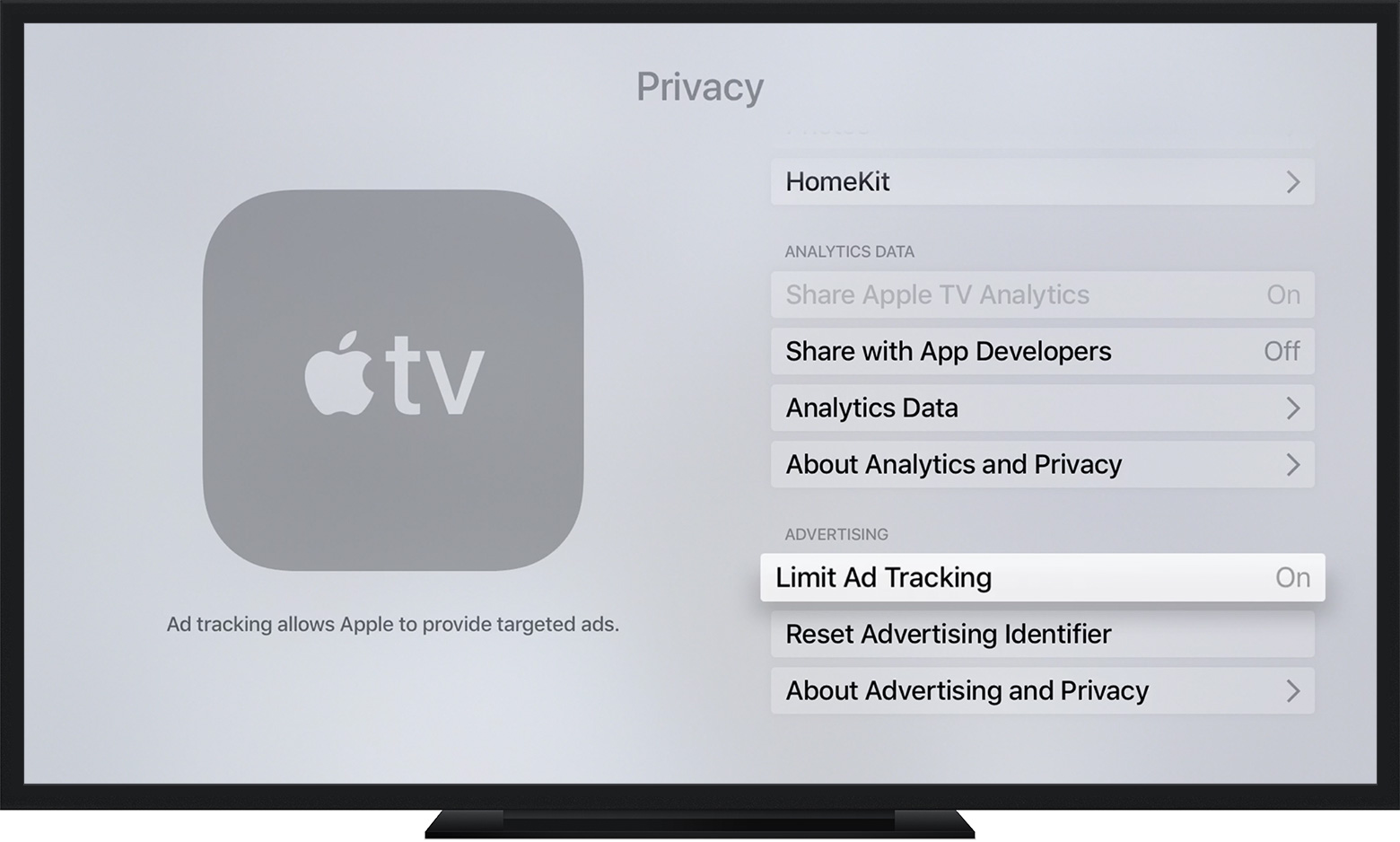 Opt out of interest-based ads in the App Store and Apple