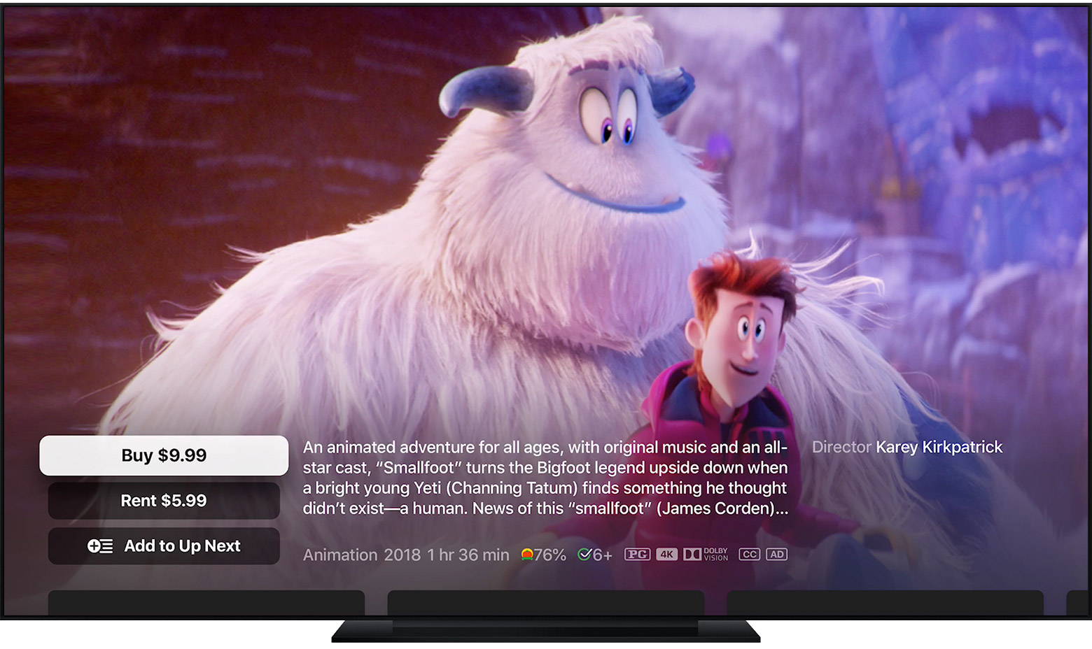 Buy movies and TV shows from the Apple TV app - Apple Support