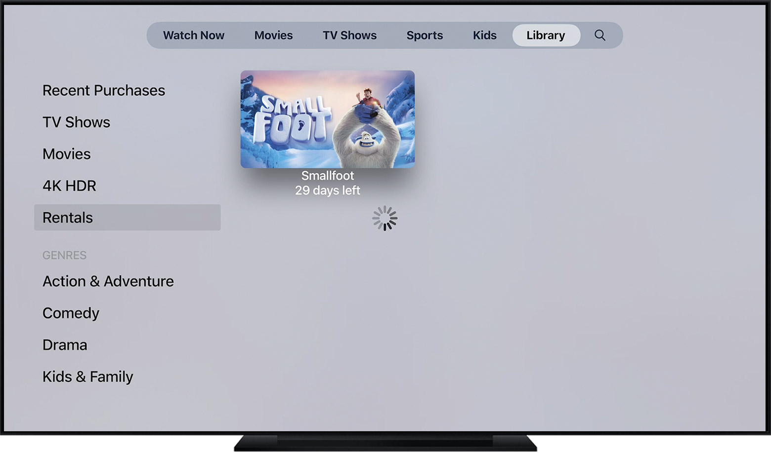 Rent movies from the Apple TV app - Apple Support