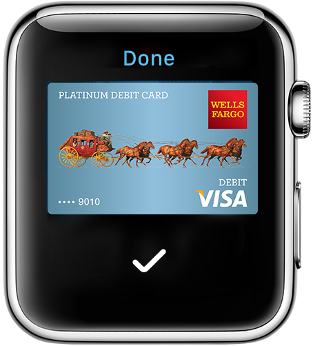 Payment completed on Apple Watch