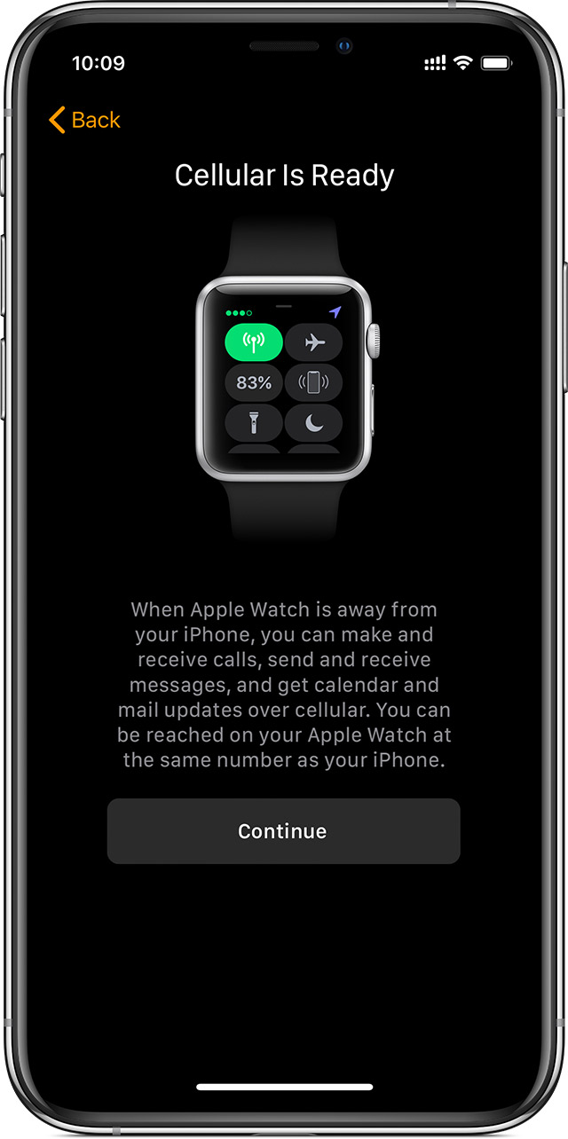 Use Dual SIM with Apple Watch Series 4 (GPS + Cellular) and