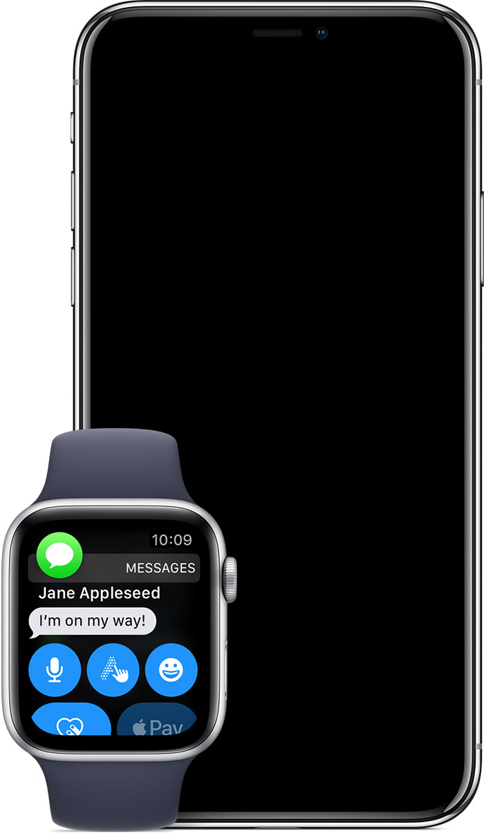 How to getting all my messages on my apple watch