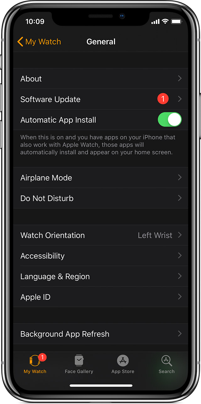 Update your Apple Watch - Apple Support