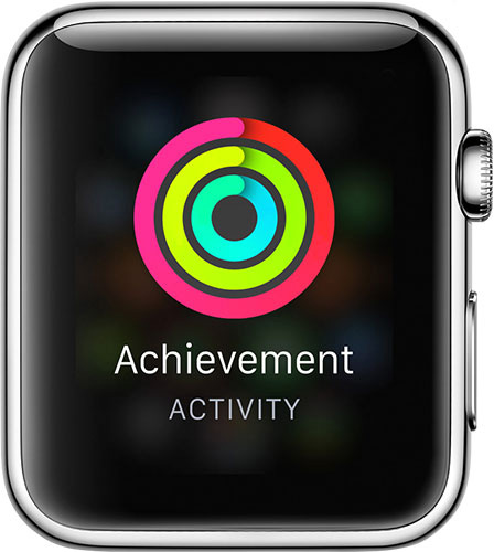 You can earn achievements in Activity for Apple Watch