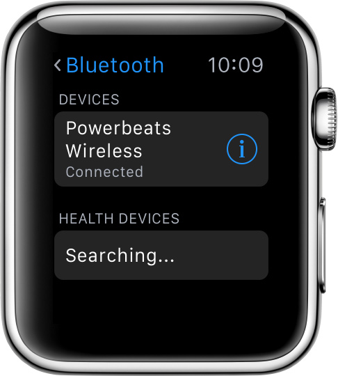 use bluetooth accessories with your apple watch apple support. Black Bedroom Furniture Sets. Home Design Ideas