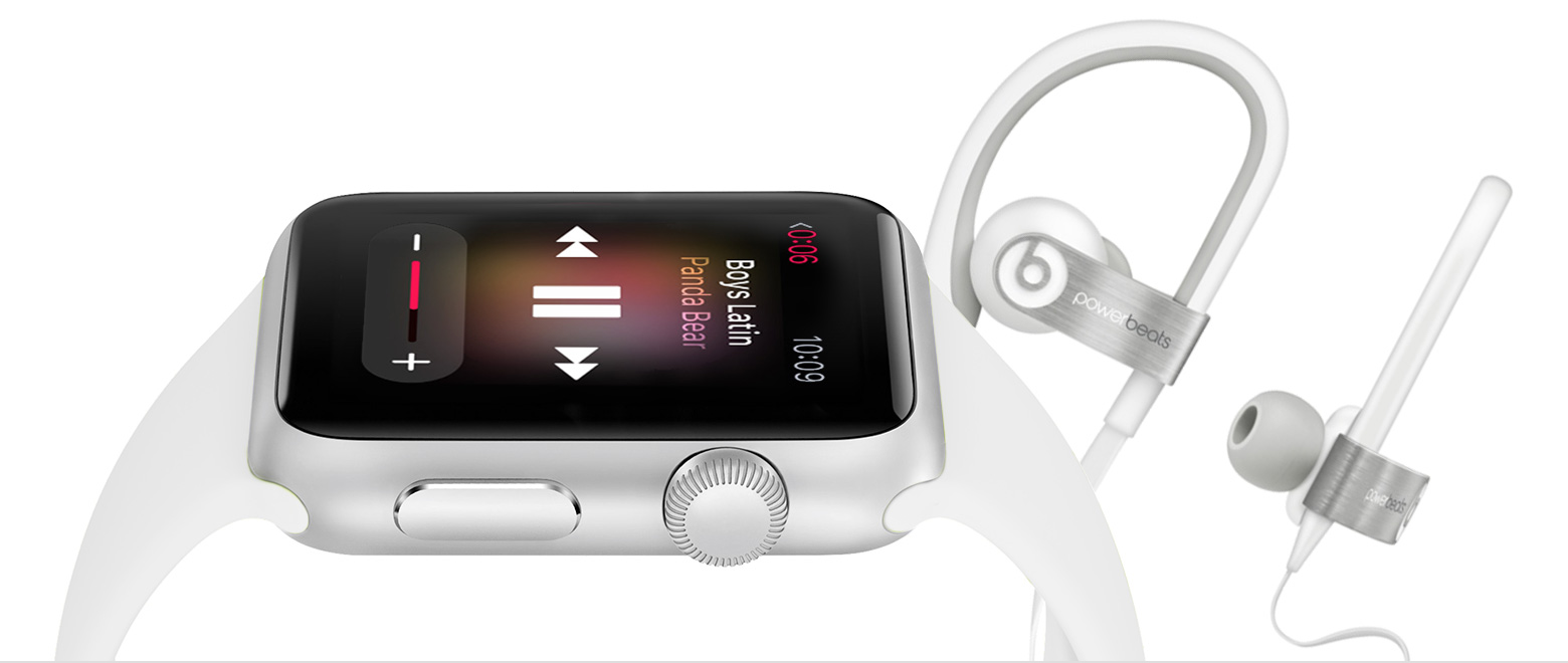 Listen to music on Apple Watch with Bluetooth headphones