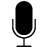 the microphone icon
