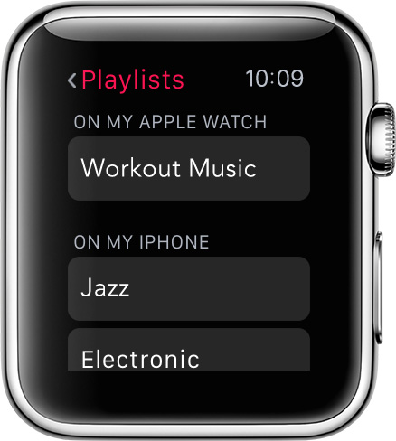 Enjoy music on Apple Watch by syncing an iPhone playlist