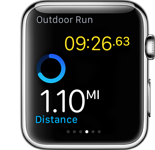 Outdoor Run Distance