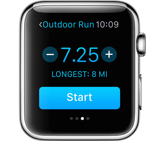 Outdoor Run Goal