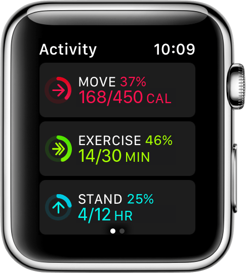 Use the Activity app on your Apple Watch - Apple Support