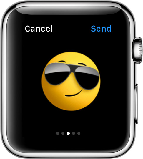 animated emoji with sunglasses