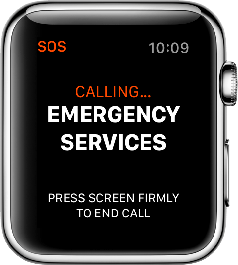 emergency services call
