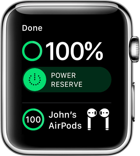 Check your battery and charge your Apple Watch - Apple Support