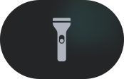 Flashlight button.
