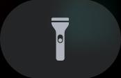 Flashlight button.