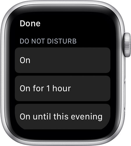Change the audio and notification settings on your Apple