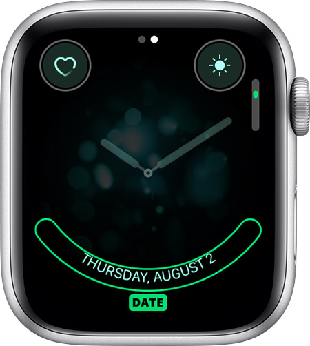 Date complication for Breathe watch face.
