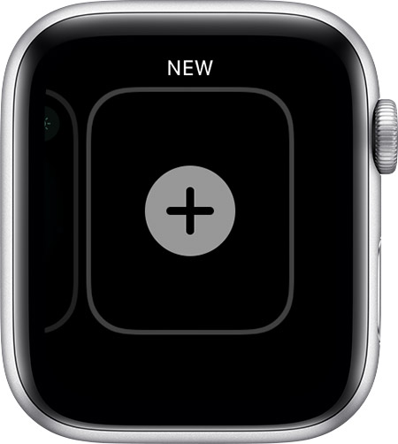 Nouvel écran facial sur Apple Watch.