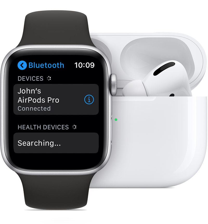 Use Airpods And Other Bluetooth Accessories With Apple Watch Apple Support