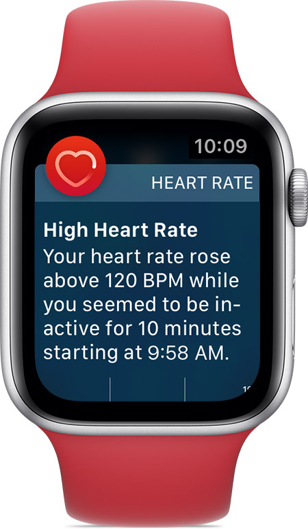 Heart Health Notifications On Your Apple Watch Apple Support