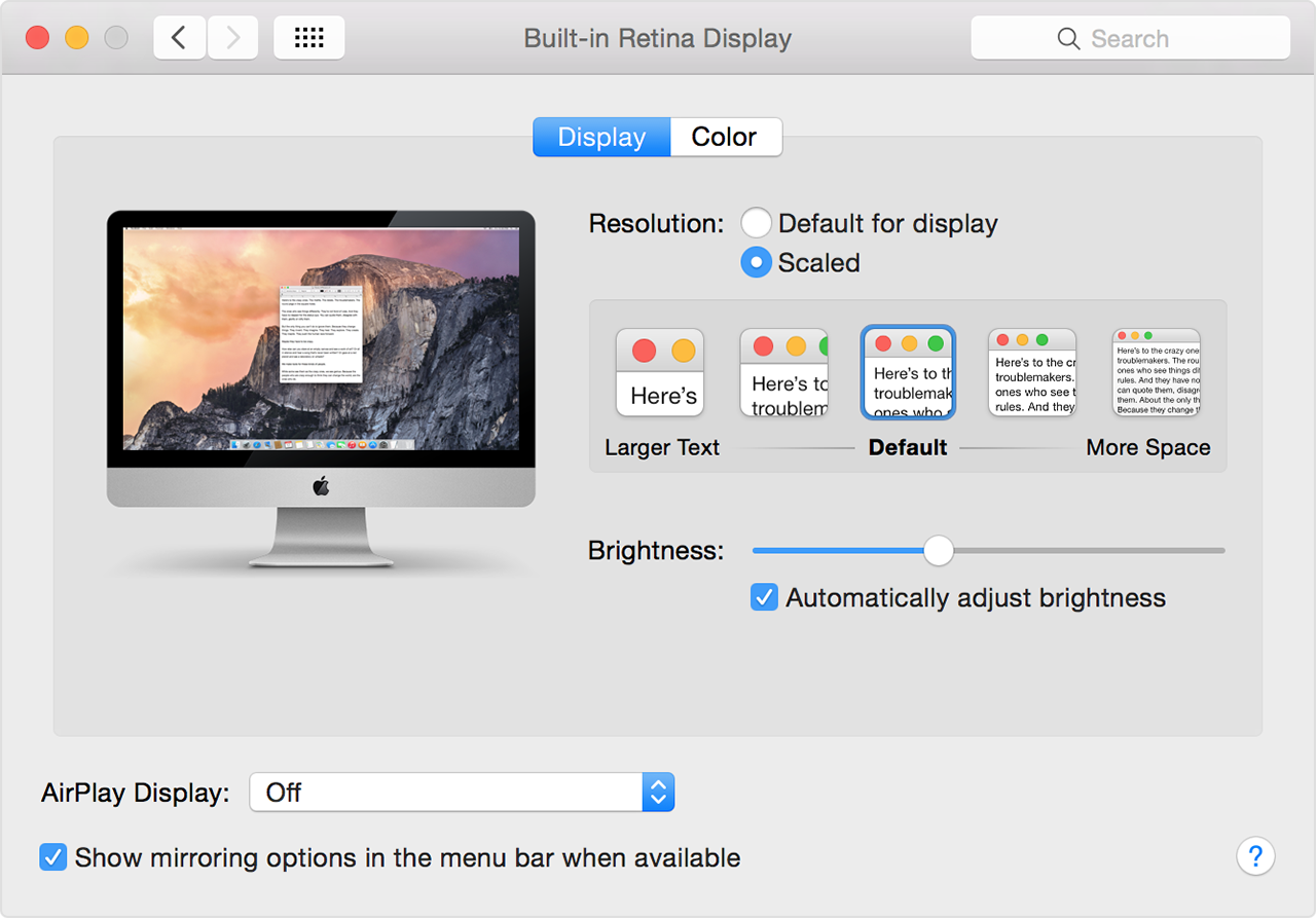 Use 4K displays, 5K displays, and Ultra HD TVs with your Mac - Apple