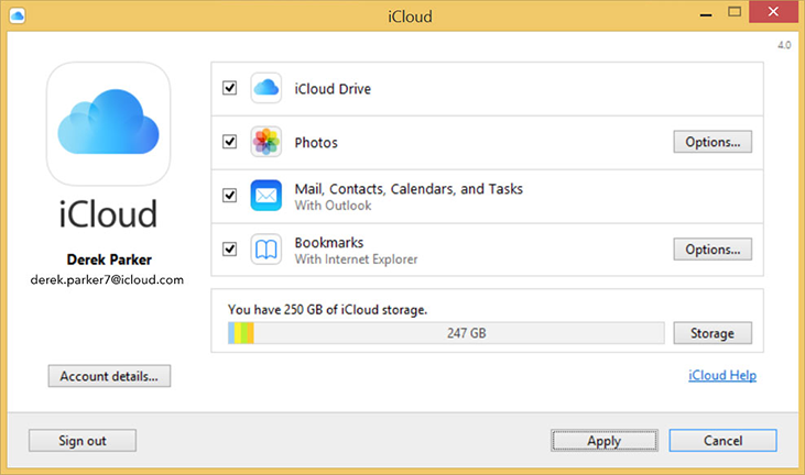 how to look at icloud photos on pc