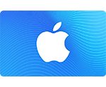App Store & iTunes Gift Card with a blue background.