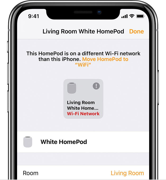 Change settings for HomePod - Apple Support