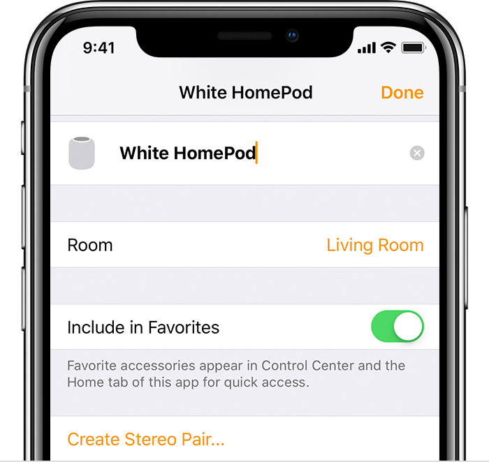 how to change settings on homepod