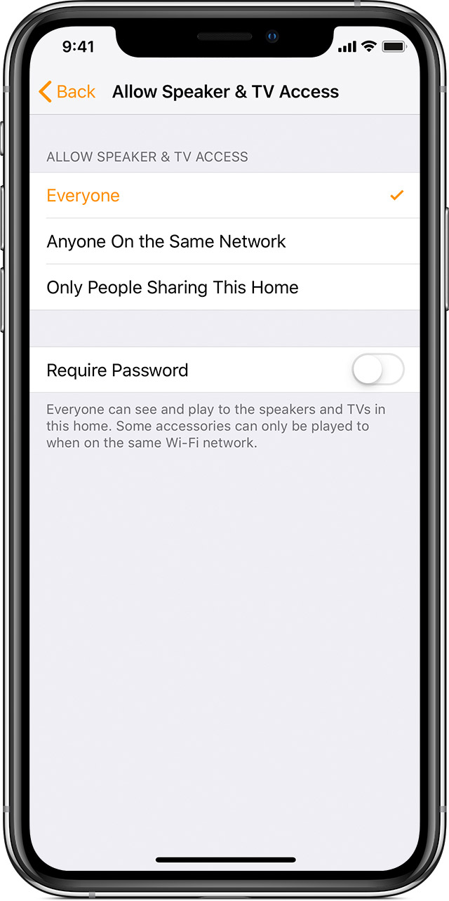 Add and manage TVs and speakers in the Home app - Apple Support