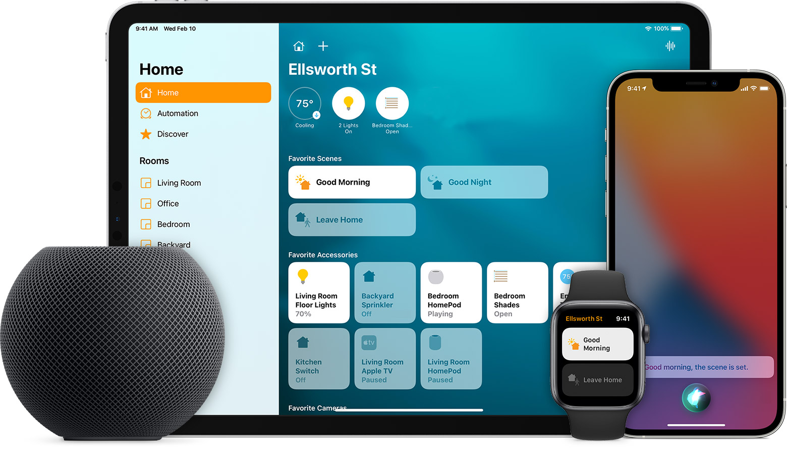 Control Your Home With Siri Apple Support