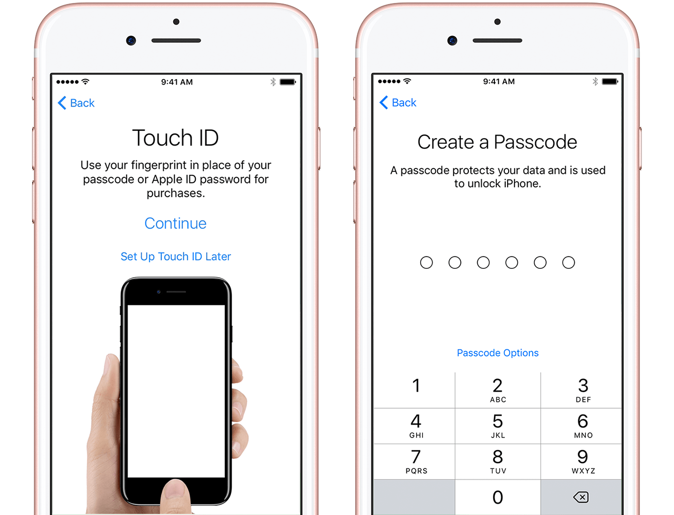 You Need A Passcode To Use Features Like Touch Id And Apple Pay If You'd  Like A Fourdigit Passcode, Custom Passcode, Or No Passcode, Tap Passcode  Options