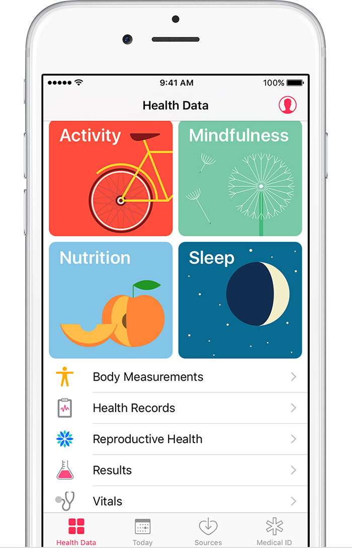 Use the Health app on your iPhone or iPod touch