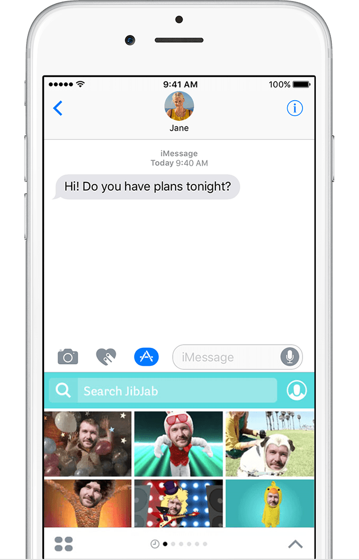 Use imessage apps on your iphone ipad and ipod touch for Picture search app for iphone