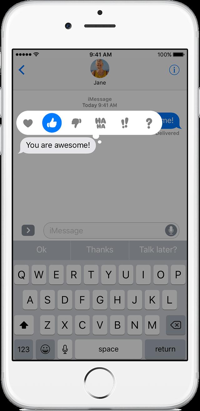 Iphone Text Bubble Clipart