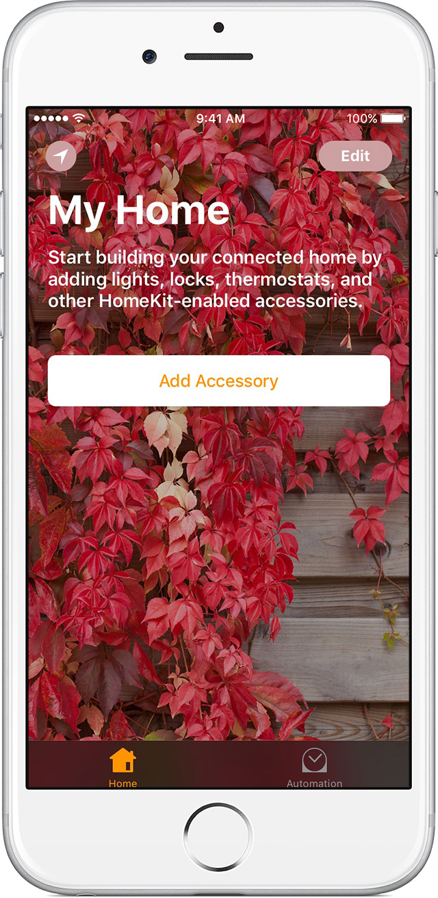 use the home app on your iphone ipad and ipod touch apple support add an accessory to home