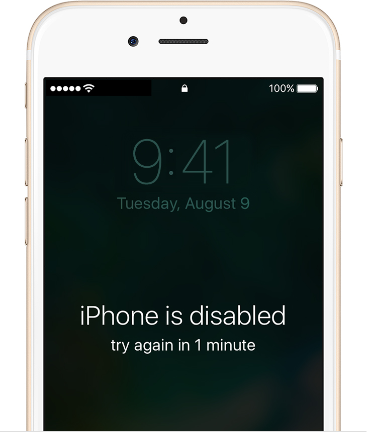 If you forgot the passcode for your iPhone  iPad  or iPod touch  or