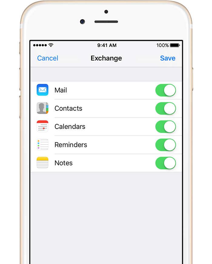 Set up Exchange ActiveSync on your iPhone, iPad, or iPod touch - Apple ...