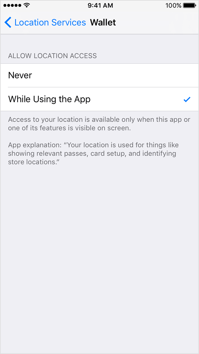 location services on iphone 6 get help with wallet on your iphone or ipod touch apple 17786