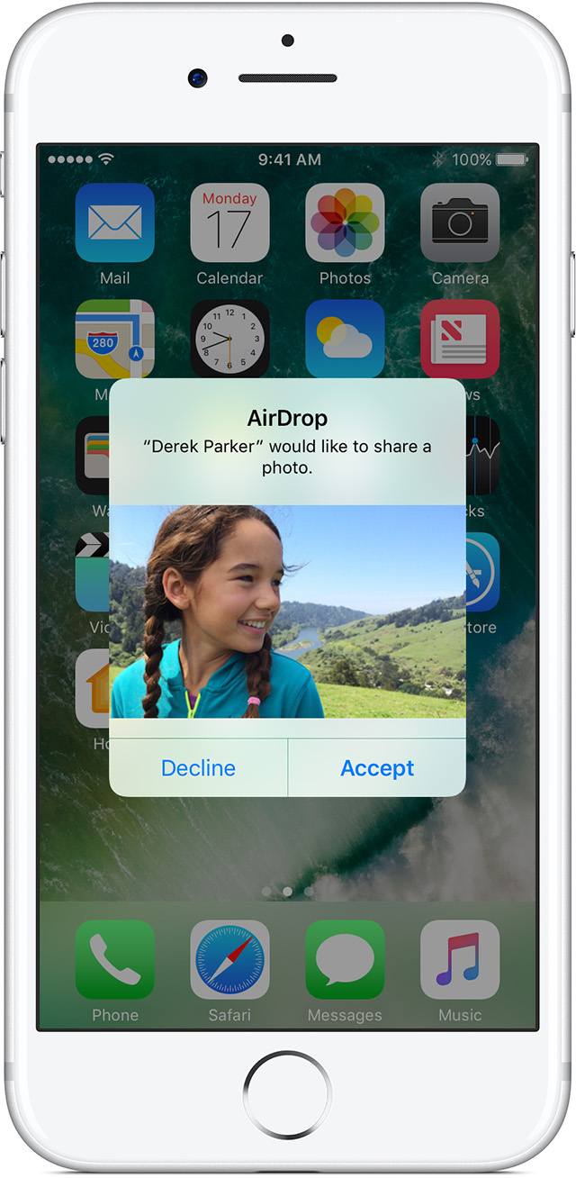 If You Have A Mac Or Another Ios Device That's Signed In With Your Apple  Id, You Can Also Airdrop Content To That Device Don't See The Airdrop User?