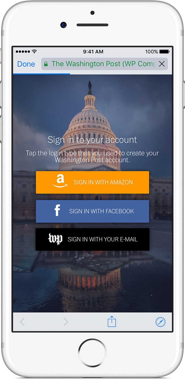 Access An Existing Outside Subscription In News