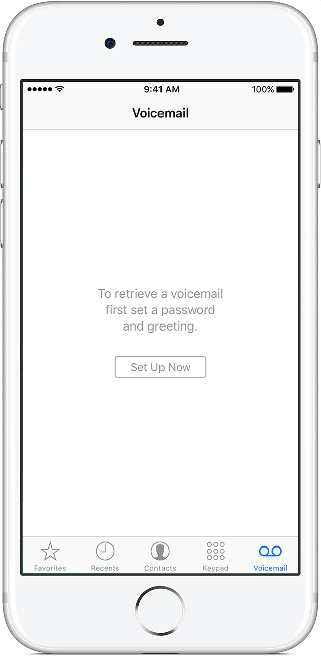 setting up voicemail on iphone set up visual voicemail on your iphone apple support 5764