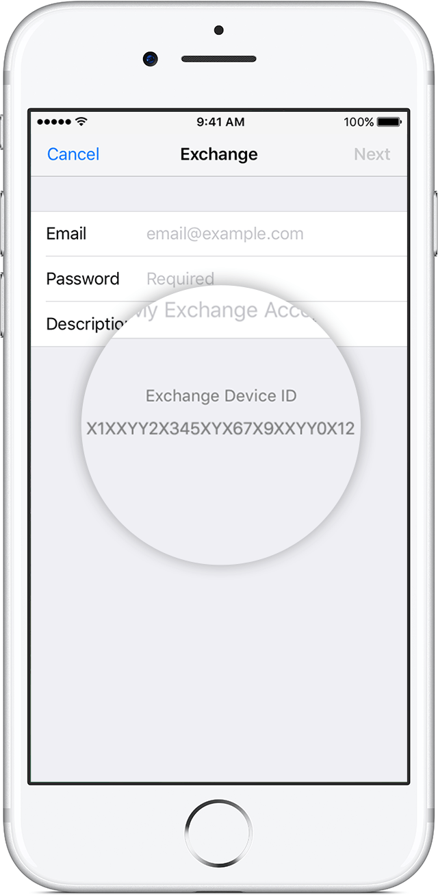 how to add a device on find my iphone find your exchange device id apple support 21337