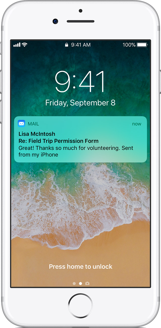 iphone mail notifications find and organize emails on your iphone or ipod 4811