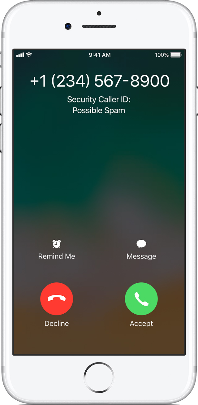call iphone support detect and block spam phone calls with third apps 10333