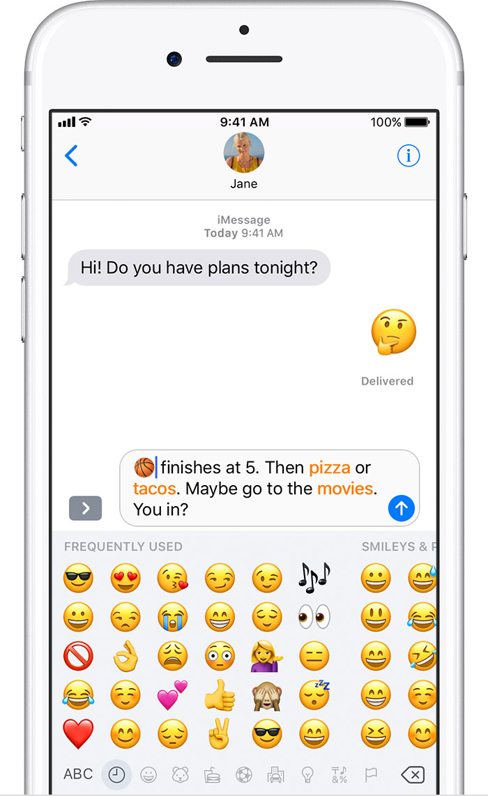 Use Emoji On Your Iphone Ipad And Ipod Touch Apple Support
