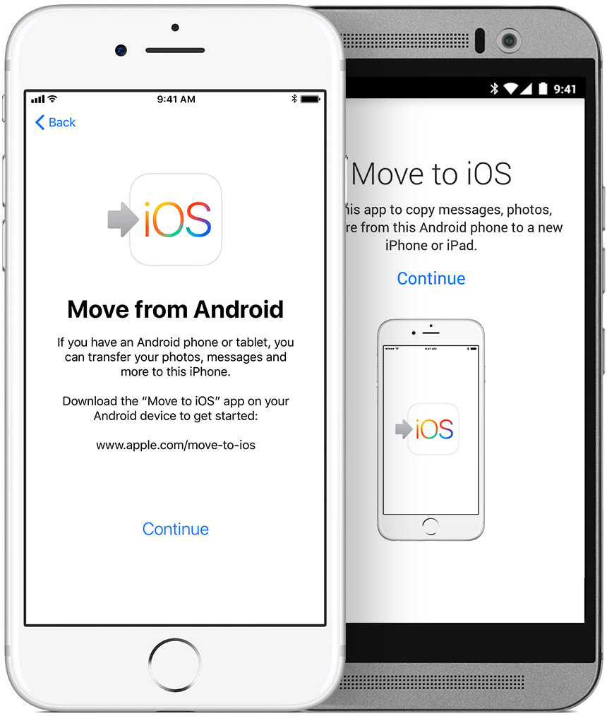 Move From Android To Iphone Ipad Or Ipod Touch Apple